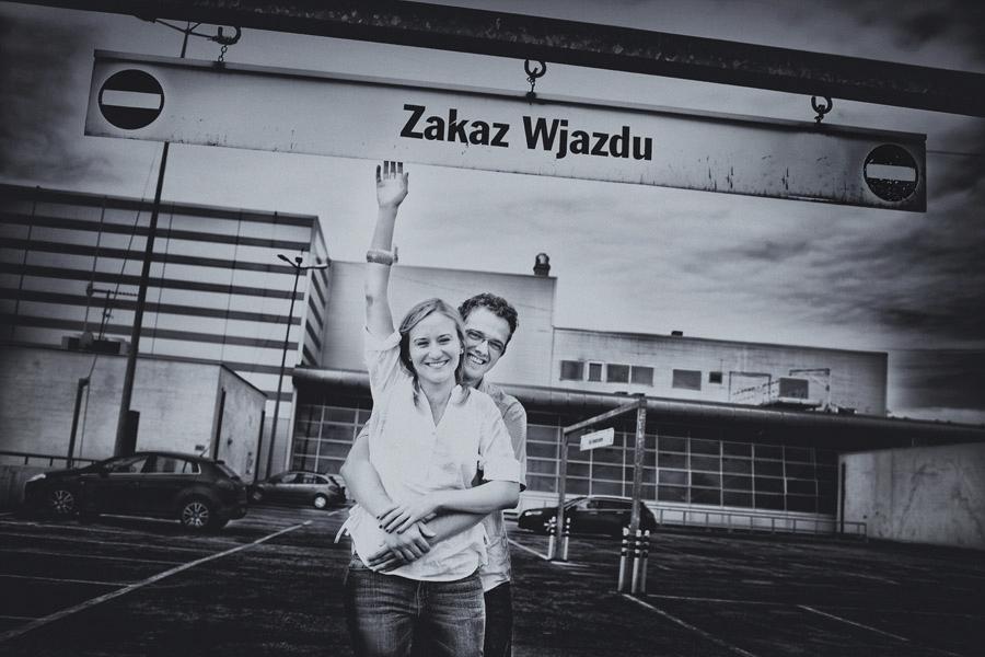 Monika i Michal sesja narzeczenska Warszawa